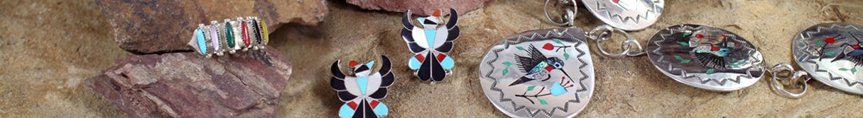 Native American Zuni Jewelry