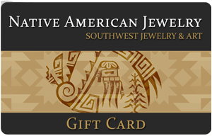 $200.00 Native American Jewelry Gift Certificate (Electronic Through E-mail)
