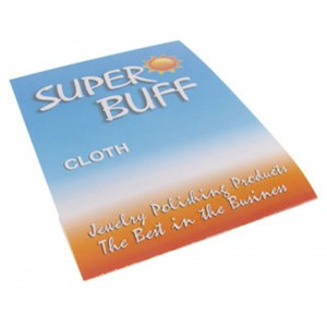 Super Buff Sterling Silver Gold Jewelry Polishing Cloth