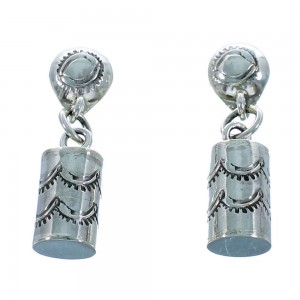 Sterling Silver Navajo Post Dangle Earrings SX106185