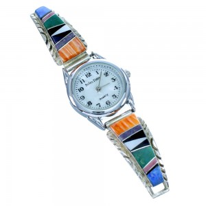 Sterling Silver Native American Multicolor Watch SX107570
