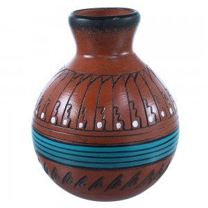 Hand Crafted Vase By Navajo Artist Shyla Watchman SX108239