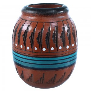 Navajo Indian Native American Pot By Artist Shyla Watchman SX108214