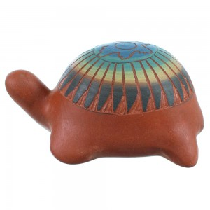Turtle Pottery Native American Hand Crafted By Artist Marilyn Kinliche SX109102