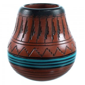 Hand Crafted Navajo Pottery By Artist Shyla Watchman SX110389